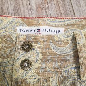 Vintage Tommy Hilfiger paisley pants size 8